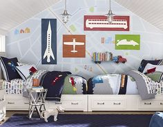 I love the Pottery Barn Kids Brody Bedroom on potterybarnkids.com