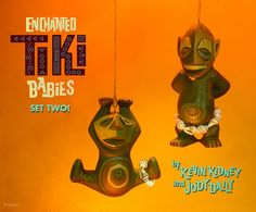 So cute! Disneyland TIKI BABIES by Kevin Kidney and Jody Daily.