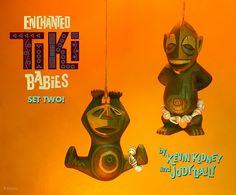 So cute! Disneyland TIKI BABIES by Kevin Kidney and Jody Daily.