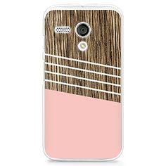 CasesByLorraine Wood Print Coral Pink Geometric Striped PC Case Hard Back Case Cover for Moto G (G02) CasesByLorraine http://www.amazon.com/dp/B00TPHIMF4/ref=cm_sw_r_pi_dp_kWs-ub00ARC1D
