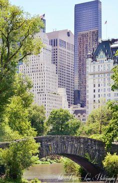 Gapstow Bridge,Central Park,New York