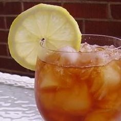 Southern sweet tea, perfect for hot summer days!