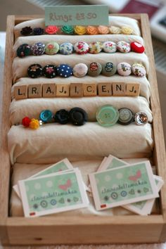 Homemade Ring Display | claireabellemakes