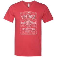 Vintage Aged To Perfection 1986 - 32nd Birthday Gift T-shirt