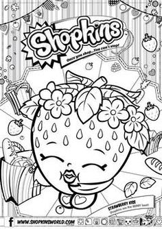 COLORING PAGES SHOPKINS | Coloring Pages Printable
