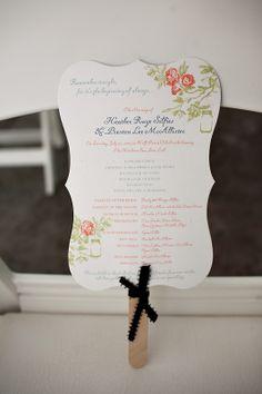 Wedding Trends: Wedding Programs