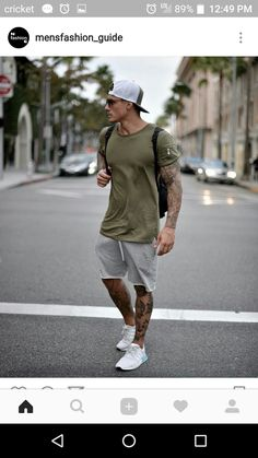 Men's Summer fashion sporty outfit inspiration. - Men's Summer fashion sporty outfit inspiration. Source by jleconteberlin - Summer Outfits Men, Sporty Outfits, Athletic Outfits, Mode Outfits, Summer Men, Winter Outfits, Men Summer Fashion, Summer Ideas, Mens Athletic Fashion