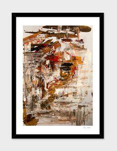 """Blind Ego"" main illustration Bianca Paraschiv Art Prints"