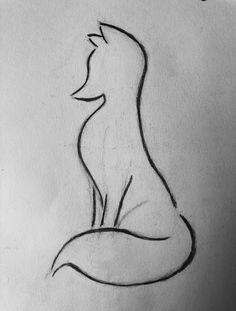 Fox drawing I did