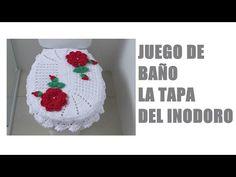 Juego de Baño Tejido al Crochet / Video Tutorial Completo | Crochet y Dos agujas - Patrones de tejido