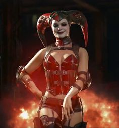 Injustice 2 Harley Quinn alt outfit