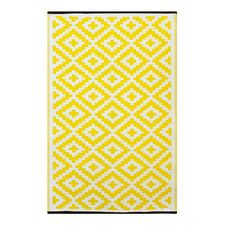 Yellow Indoor/Outdoor Area Rug