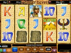 The Great Egypt - http://freeslots77.com/the-great-egypt/ - It seems that our compassion and enthusiasm about ancient Egypt will follow us wherever we go. EGT will once again burn our interest with The Great Egypt online slot machine. The game will not only provide a glimpse of the great ancient culture but help you win good cash prizes. The slot comes...
