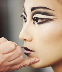 Eleni Uranis, Makeup Designer for Amaluna,Cirque du Soleil®  Photos by: Dominique Lafond