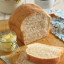 Sourdough bread from your bread machine or oven.