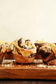 Chocolate Babka Pull Apart Muffins
