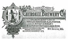 1888 Cherokee Brewery Co St. Louis | Flickr - Photo Sharing!