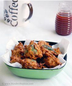 Sweet Potato Pakora / Fritters - A delicious #Indian snack #recipe.. #indianfood #indianrecipes #snacks #sweetpotato #cooking #fritters #pakora