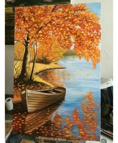 Mural painting, paint colors, wall painting ideas, painting designs, wall paint d . Mural Painting, Diy Painting, Painting & Drawing, Interior Painting, Oil Painting Tutorials, Canvas Painting Designs, Underwater Painting, Painting Doors, Autumn Painting