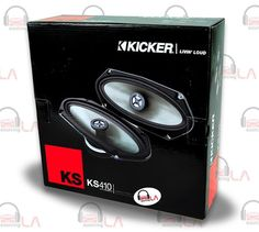 Sourcing-LA: Kicker Car Audio KS410 4 X 10 Inch 35 Watts 2 Way ...