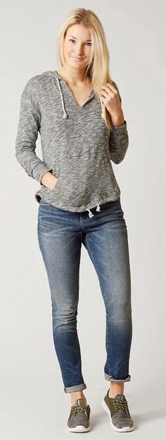 Outfits for Fall : Billabong Light Song Sweatshirt | Buckle