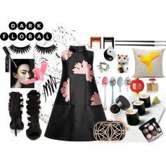 black bloom Kinds Of Clothes, Bloom, Stylish, Polyvore, Image, Fashion, Moda, Fashion Styles, Fashion Illustrations