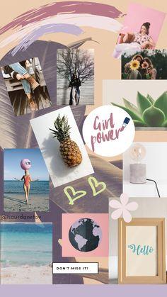 Como te inspiras para crear tu blog, tu Instagram, mantener tu marca y la respuesta es un #moodboard ! Allí colocas imágenes que te gustan, con las que te identificas y que te inspiran! #inspirancion #inspiration #mood #fondosdepantalla Instagram, Polaroid Film, Photo And Video, Movie Posters, Art, Sentences, Wallpaper For My Phone, Cute Wallpapers, Wallpaper Ideas