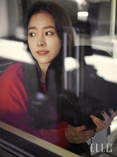Han Ji Min Meets Switzerland For Elle Korea's November 2014 Issue