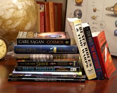 Space.com's editors present a reading list for space and sci-fi lovers, as well as children who are interested in astronomy and spaceflight.