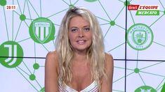 �31 CARINE GALLI @CarineGalli ce soir @lequipe21 #vuesalatele #lequipeMercato