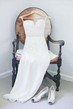 Chiffon+Wedding+Dress+Bridal+Gown+Boho+Beading+by+MiLanFashion,+$246.00