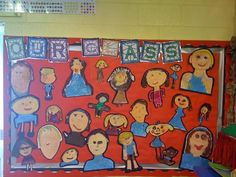 Head your 'Meet Our Class' display with this lovely themed banner! Features our own illustrations to help brighten up your classroom, and clearly define the theme of your display board. Our Class Display, Class Displays, School Displays, Classroom Displays, Ks1 Classroom, Year 1 Classroom, Classroom Layout, Classroom Ideas, All About Me Eyfs