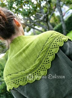 Welcome To The Jungle Shawl by Iwona Eriksson
