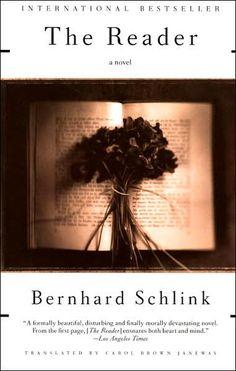 The Reader by Bernhard Schlink.  Wonderful writing; heartbreaking story.