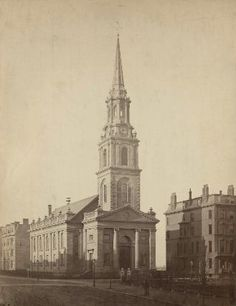 "Josiah Johnson Hawes ""Arlington Street Church, Boston."" Museum of Fine Arts, Boston."