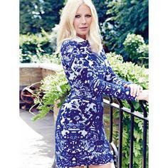 Gwyneth Paltrow, Red December 2013 Cover Star