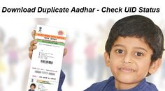 Download Duplicate Aadhar - Aadhar Status Check  #duplicateaadharcard, #aadharstatuscheck, #eaadharcard, #uid