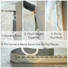 DIY IKEA Poang Chair Cover