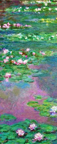Love the color, one of my favorite artists. Claude Monet » Water Lilies