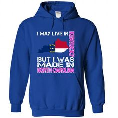 I May Live in Kentucky But I Was Made in North Carolina - #shirt diy #tshirt sayings. CHECK PRICE => https://www.sunfrog.com/States/I-May-Live-in-Kentucky-But-I-Was-Made-in-North-Carolina-uefhprqoml-RoyalBlue-28264362-Hoodie.html?68278