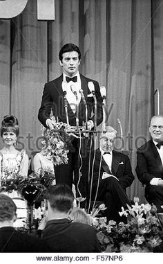 Bambi Preisverleihung im Herkules Saal der Münchner Residenz am 22. Januar 1967- Stock Image
