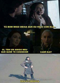 Jon Snow E Daenerys, Got Memes, Funny Memes, Game Of Thones, Mother Of Dragons, Sansa, Pearl Jam, Humor, Games