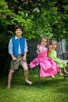 Kids in Tracht