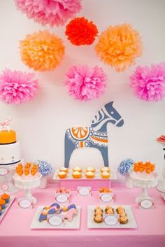 Gorgeous Dala Baby Shower