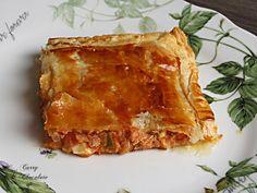 Curry y Chocolate: Empanada casera de atún – Tuna empanada pie