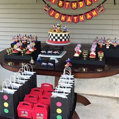 Birthday Themes For Kids Disney Mickey Mouse 58 Ideas Hot Wheels Birthday, Race Car Birthday, Race Car Party, Mickey Birthday, Mickey Party, Car Themed Parties, Cars Birthday Parties, Disney Cars Party, Disney Mickey