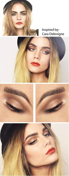 inspired by Cara Delevigne