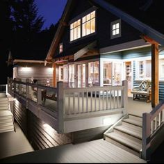 Composite decking idea