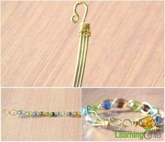 Design Your Own Wire Jewelry-How to Make a 3 Strand Braided Wire Bracelets with Beads - Pandahall.com