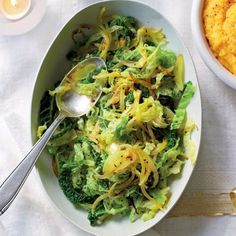 This delightfully aromatic spiced savoy cabbage peps up Christmas lunch, and is also great for bubble and squeak the next day. Vegetarian Cabbage, Vegetarian Recipes, Healthy Recipes, Healthy Foods, Yummy Recipes, Free Recipes, Curry Side Dishes, Vegetable Side Dishes, Vegetable Recipes